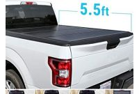 Pickup tonneau Covers Near Me Amazon Syneticusa Aluminum Hard Folding tonneau Cover Tri Fold