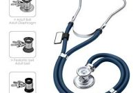Sprague Stethoscope Replacement Parts Amazon Mdf Sprague Rappaport Dual Head Stethoscope with Adult