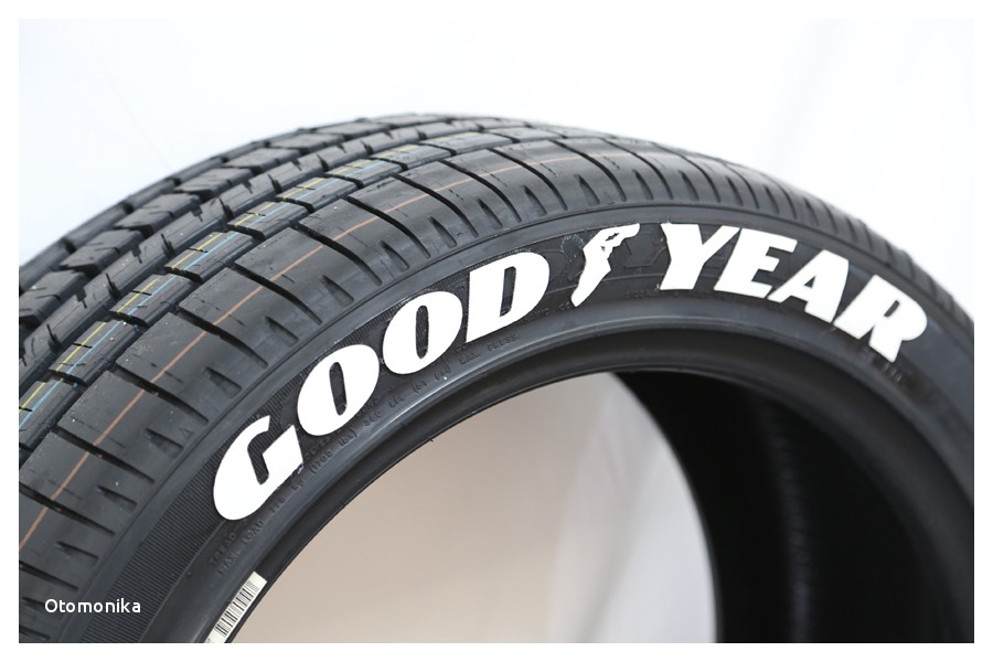 Nitto Tires with White Lettering Goodyear Tire Lettering