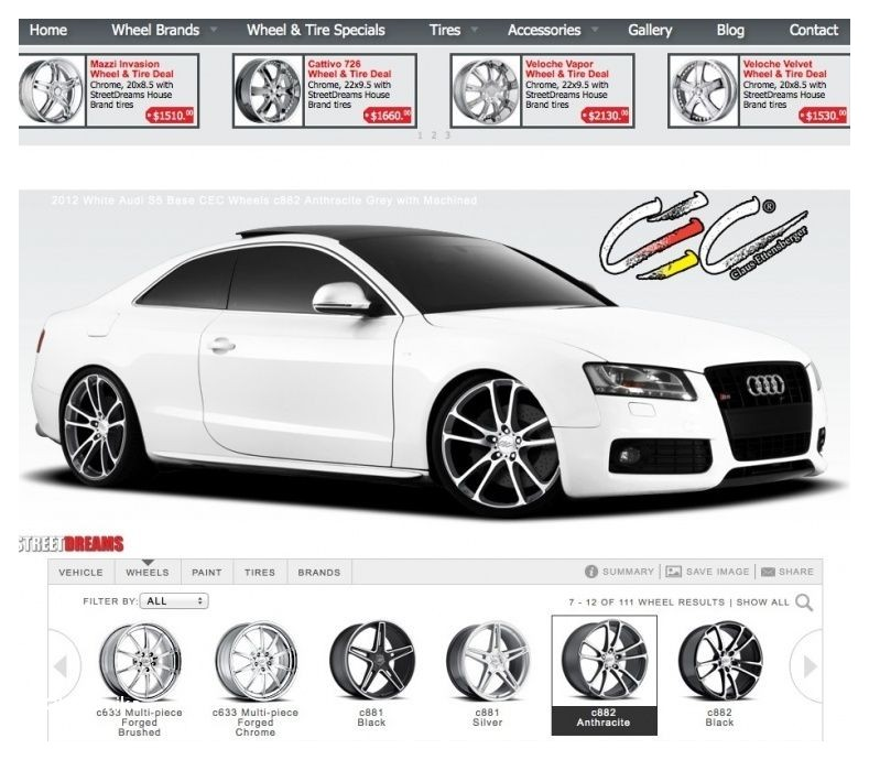 Wheel Visualizer for Trucks Car and Wheel Visualizer Wheels Tires Gallery